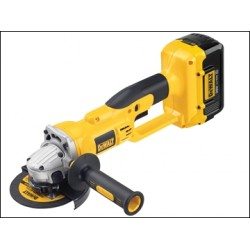 Dewalt DC415M2 125mm Grinder Kit Box 36 Volt 2 X 4.0ah Li-ion