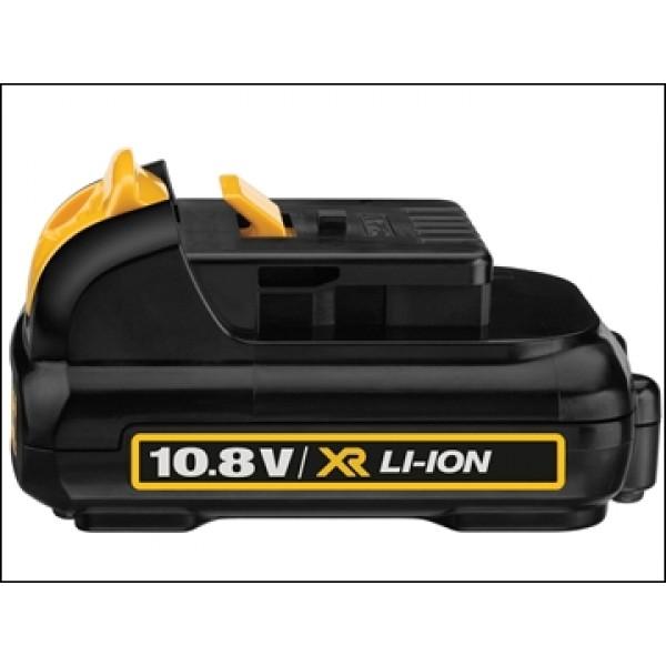 Dewalt DCB127 XR Slide Battery Pack 10.8 Volt 2.0ah Li-ion