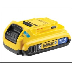 Dewalt DCB183B Bluetooth Slide Li-ion Battery Pack 18 Volt 2.0ah