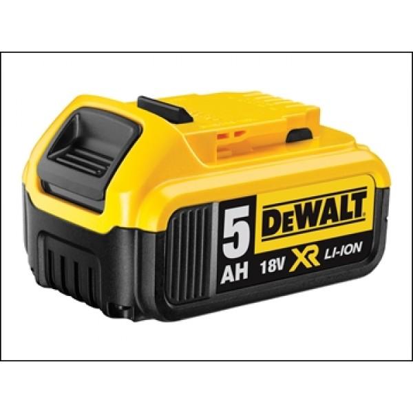 Dewalt DCB184 XR Slide Battery Pack 18 Volt 5.0ah Li-ion