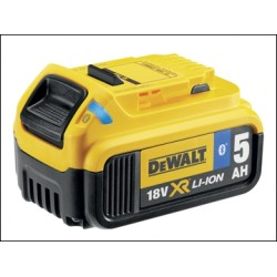 Dewalt DCB184B Bluetooth Slide Li-ion Battery Pack 18 Volt 5.0ah
