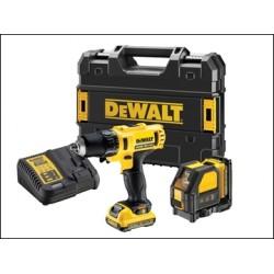 Dewalt DCK215D2T Drill DCE088NR Laser Combo Kit 10.8 Volt 2 X 2.0ah Li-ion