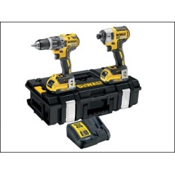 Dewalt DCK266D2B XR Brushless Twin Pack 18 Volt 2 X 2.0ah Bluetooth Li-ion