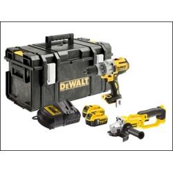 Dewalt DCK278P2 XR Twin Pack 18 Volt 2 X 5.0ah Li-ion