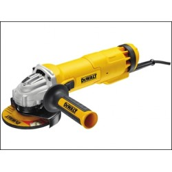 Dewalt DWE4206K 115mm Mini Grinder With Kitbox 1010 Watt 110v or 240v