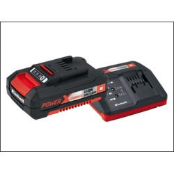 Einhell Power X-Change Battery Charger Starter Kit 18 Volt 1 x 2.0Ah Li-Ion
