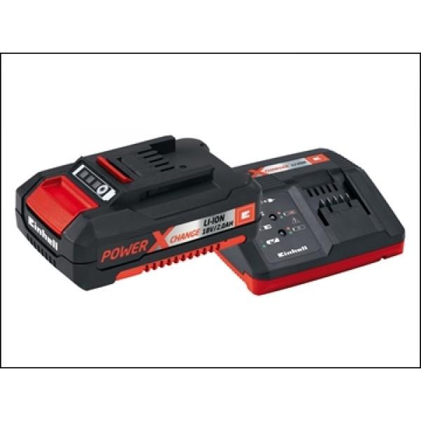 Einhell Power X-Change Battery Charger Starter Kit 18 Volt 1 x 2.0Ah Li-Ion