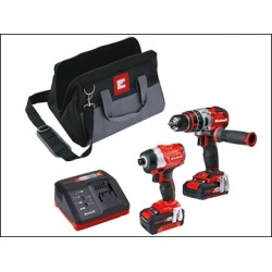 Einhell Power-X-Change Brushless Twin Pack 18 Volt