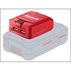 Einhell TE-CP 18 LI USB-Solo Power X-Change Charger 18 Volt 1-2.1Ah Li-Ion