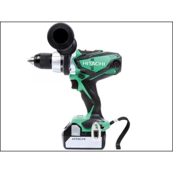 Hitachi DV18DSDL5 Cordless Combi Drill 18 Volt 2 x 5.0Ah Li-Ion
