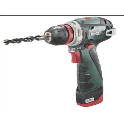 Metabo PowerMaxx BS Quick Basic Drill Driver 10.8 Volt 2 x 2.0Ah Li-Ion